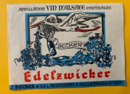 14215 - Alsace Edelzwicker Becker Cigogne - Blancs