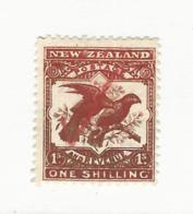 35179 ) New Zealand 1902 Watermark - Usati