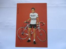 Cyclisme Photo Signee Regis Ovion - Cyclisme