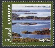 2009 - ALAND - SEPAC - PAESAGGI / LANDSCAPES. MNH - Aland