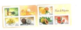 BG46 Polynésie Carnet ** FRuits - Carnets