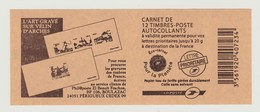 FRANCE - CARNET N° 590 C1 - NEUF** NON PLIE - Marianne De BEAUJARD - Carnets