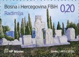 2020 Archaeological Treasure, Croat Post Mostar, Bosnia And Herzegovina, MNH - Bosnie-Herzegovine