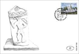 2020 FDC, Archaeological Treasure, Croat Post Mostar, Bosnia And Herzegovina, MNH - Bosnie-Herzegovine