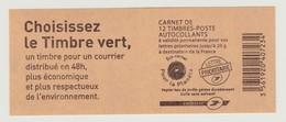 FRANCE - CARNET N° 590 C2 - NEUF** NON PLIE - Marianne De BEAUJARD - Carnets
