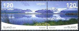 2009 - ISLANDA / ICELAND - SEPAC - PAESAGGI / LANDSCAPES. MNH - Ongebruikt