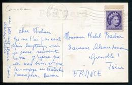CANADA - N° 270 / CP DE SUDBURY LE 11/4/1956 POUR GRENOBLE - TB - 1952-.... Règne D'Elizabeth II