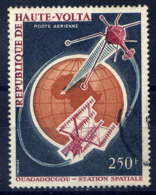 HAUTE VOLTA  - A29° - STATION SPATIALE D'OUAGADOUGOU - Alto Volta (1958-1984)