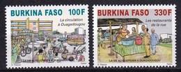 Burkina Faso 2012 Daily Life In Ouagadougou Car Motorcycle 2v MNH - Burkina Faso (1984-...)