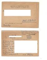 8386 Posta Militare 2^ WW POW 22-3-1946 CAMP 28 INDIA BOMBAY - 1900-44 Vittorio Emanuele III