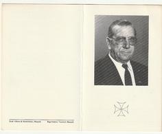 Bidprentje Priester Willem SANGERS Kruisheer Stevensweert 1915 Diest Leuven Maaseik 1987 - Devotion Images