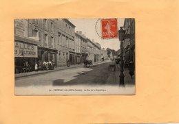 G1705 - FONTENAY LE COMTE - D85 - La Rue De La République - Fontenay Le Comte