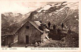 16646      LUCHON    MASSIF ET GLACIER DE LA MALADETTA ET LE PIC DE NETHOU - Luchon