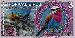 Aldabra Islands 3 Dollars 2017 UNC - Specimen