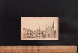 Photographie CDV Format Carte De Visite : Pélerinage NOTRE DAME DE L'OSIER Isère / Photo Vve VAGNEUR / C.1870's - Luoghi
