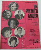 Partition Un Premier Amour Roland Valade Claude Henri Vic EMF70 1962 Vintage - Musique & Instruments