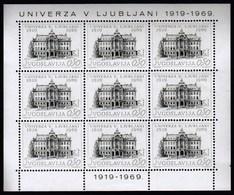 Yugoslavia 1969 / 50th Anniversary Of The Ljubljana University / MNH / Michel 1358 - 1945-1992 Sozialistische Föderative Republik Jugoslawien