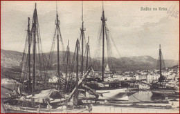 Baška * Segelboot, Schiffe, Hafen, Krk * Kroatien * AK2597 - Croatia