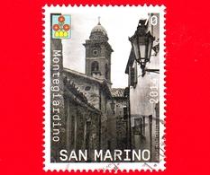 SAN MARINO - Usato - 2014 - Castelli Della Repubblica Di San Marino - Campanile Di Borgo Maggiore E Funivia - 0.70 - Saint-Marin