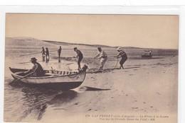 CAP FERRET - La Pêche à La Senne - Vue Sur La Grande Dune Du Pilat - Autres Communes