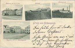1899 - OSOBLAHA  Hotzenplotz  Okres BRUNTAL , Gute Zustand, 2 Scan - Tchéquie