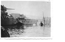 Petite Photo Mers El Kebir  Dunkerque 6 Juillet 1940 V (9x12 Cm) - Guerre, Militaire