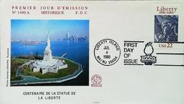 USA - FDC - 1986 -  Centenaire De La Statue De La Liberté / Centenary Of The Statue Of Liberty -  Enveloppe Premier Jour - Unabhängigkeit USA