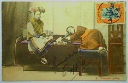 1911 PEKING - OPIUM SMOKER - Chine