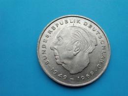 ALLEMAGNE  -  2 Mark 1971    -   G  Theodor Heuss    -  Deutschland - [ 7] 1949-… : RFA - Rep. Fed. Alemana