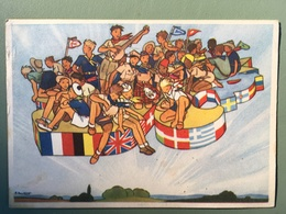 JAMBOREE DE LA PAIX 16 AOUT 1947 - Scoutisme