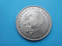 ALLEMAGNE  -   2 Mark 1976  --Sup--  G  Konrad Adenauer   -   Deutschland - [ 7] 1949-… : RFA - Rep. Fed. Alemana