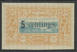 COTE FRANCAISE DES SOMALIS 1902 YT 28** - Côte Française Des Somalis (1894-1967)
