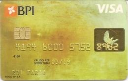 PORTUGAL -  BPI - VISA Card - Cartes De Crédit (expiration Min. 10 Ans)