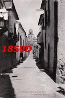 S. BARTOLOMEO IN GUALDO - VIA LEONARDO BIANCHI F/GRANDE VIAGGIATA1957 - Benevento