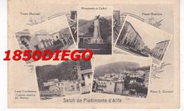 SALUTI DA PIEDIMONTE D' ALIFE - MULTIVEDUTE F/PICCOLO VIAGGIATA ANIMATA - Caserta