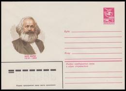 16096 RUSSIA 1983 ENTIER COVER Mint KARL MARX POLITIC POLITIQUE ECONOMIC ECONOMIQUE USSR 62 - Karl Marx