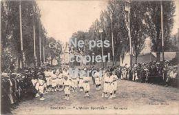 02 Sinceny - L'Union Sportive - Au Repose - 1914 - Autres Communes