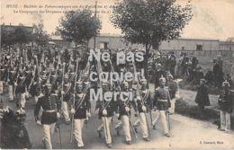 57  Metz - La Compagnie Des Drapeaux Au Retour De La Revue Du 27 Aout 1908 - Metz