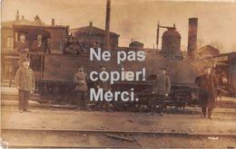 59  Busigny - Carte Photo Superbe - Chemin De Fer Militaire - Eisenbahn Direction 3 Busigny - Top! - France