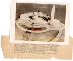 Photo Fnp 111548 Model Construction Siege Des Nations Unies USA San Francisco Vincent Ramet 1945 18x12,5 Cm - Altri