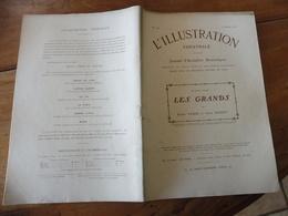 1909   L'ILLUSTRATION THÉÂTRALE  - Les Grands - Par Pierre Veber Et Serge Basset  (Photographies Larcher) - Theatre