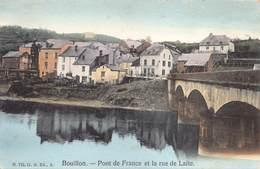 Bouillon  Pont De France Et La Rue De Laite       M 2900 - Bouillon