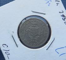ANGOLA 2$50 CENTAVOS 1953 - Angola