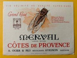 14221 -  Grand Rosé Merval Côtes De Provence Cigale - Languedoc-Roussillon