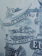 FACTURE - 13 - DEPARTEMENT DES BOUCHES DU RHÔNE - SALON 1899 - HUILERIE Et SAVONNERIE : EUGENE CROUSILLAT FILS - DECO - Frankrijk