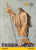Folder EASTER Vatican 2020 PASQUA Vaticano FDC First Day Cover PV/108 Stamp Busta Primo Giorno Francobolli PAQUES OSTERN - FDC