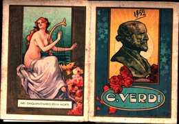 94326) CALENDARIETTO DEL 1952-GIUSEPPE VERDI - Calendarios