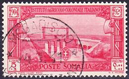 Somalia Italiana 1930 Pro Istituto Agricolo Coloniale Italiano Mi 152, Sassone 148 Used O - Somalie