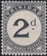 Trinidad         .    SG   .    D 11     .     *     .   Mint-hinged    .   /   .   Ongebruikt - Trinidad & Tobago (...-1961)