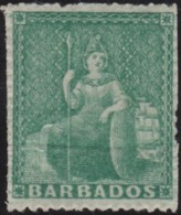 Barbados        .    SG   .  20       .     *     .  Mint-hinged   .   /   .  Ongebruikt - Barbados (...-1966)